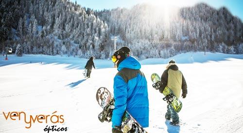 4411691481 Gasfas de sol para cuidar tus ojos haciendo esqui o snow